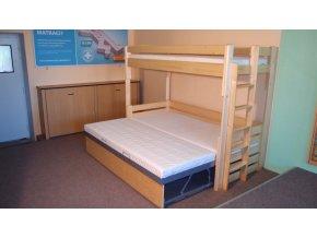 rozkladaci patrova postel alka 1